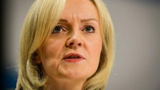 Justice Secretary Liz Truss.