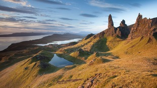 The rugged landscape of the Isle of Skye.