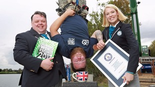 Guinness World Records Day: From biscuit dunking bungee jumpers to skydiving magicians and the  shortest married couple
