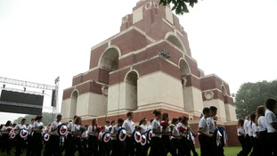 Thiepval Memorial was the scene of commemorations on 1st July