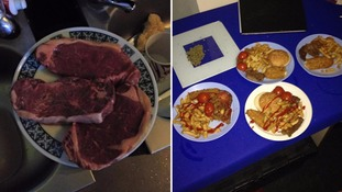 Pictures of prisoners with steaks and fish and chips spark investigation