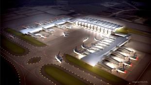 If the plans are given the go ahead, this is what the new airport could look like
