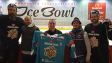 Belfast Giants and UFC fighters