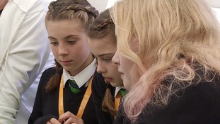 Girls encouraged to study science and engineering