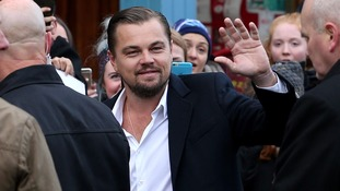 Leonardo DiCaprio visits Edinburgh restaurant to help the homeless