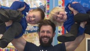 Meet Joe Wills - or Mr Wills to his pupils!