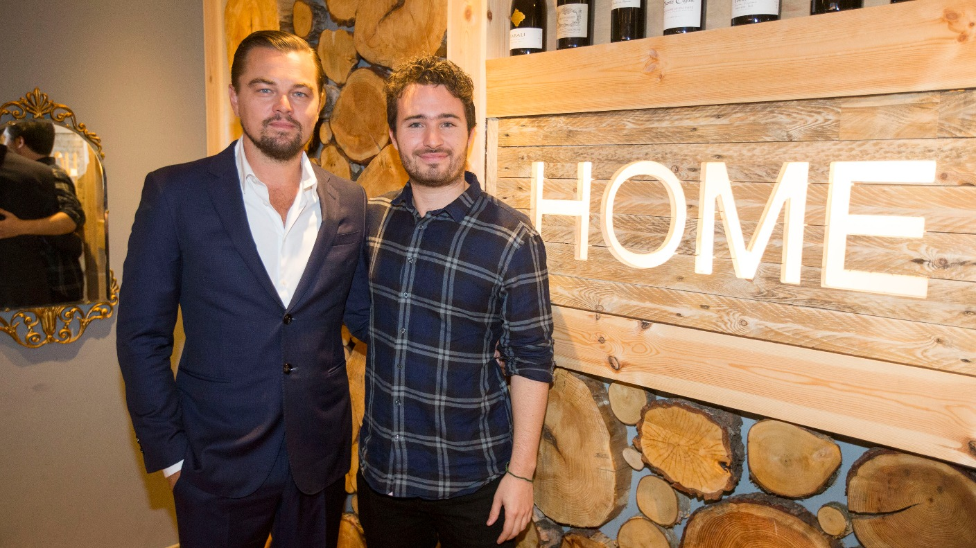 Leonardo Dicaprio Visits Edinburgh Restaurant To Help The