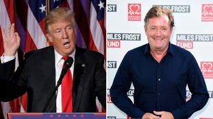 Piers Morgan chats with Donald Trump 'for longer than Theresa May'