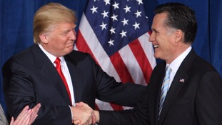Donald Trump endorsed Mitt Romney in 2012.