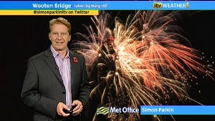 Bonfire Night forecast