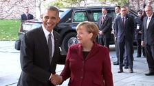 Mr Obama will hold talks with European leaders