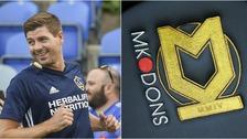 Steven Gerrard could take over at MK Dons.