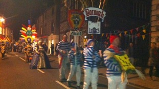 Bonfire procession