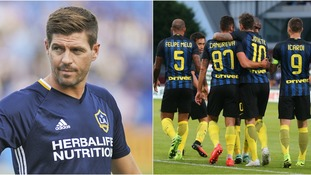 Inter Milan could be a possible option for Steven Gerrard.