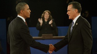 Barack Obama Mitt Romney