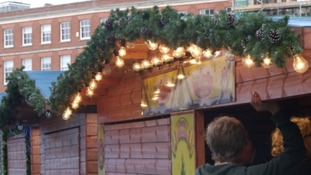 After the fire Exeter gears up for Christmas