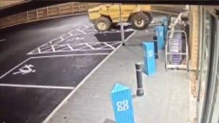 Cash machine targeted in Co-Op store ram raid