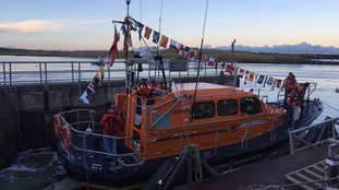 New RNLI lifeboat arrives in Amble