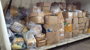 East Midlands Airport seizes 17,000 dangerous items