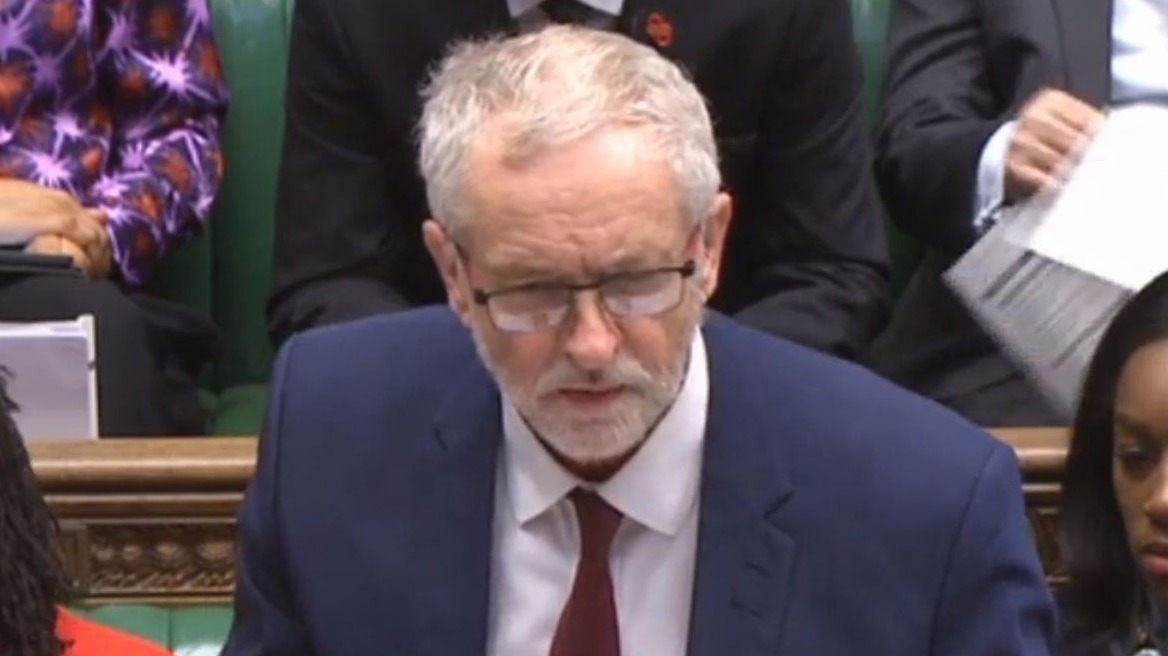 Jeremy corbyn expected to slam 39 farcical fake anti elitism for Farcical how to say