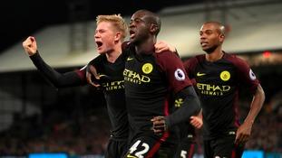 Manager Pep Guardiola hails returning Man City hero Yaya Toure