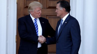 Donald Trump and Mitt Romney hold 'in-depth foreign policy talks'