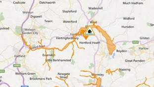 A flood alert has been issued for the River Lee in Hertfordshire.