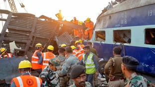 At least 133 dead and 200 injured after Indian train derails