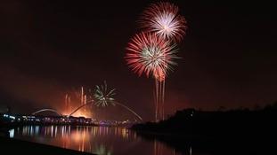 Stockton had an impressive fireworks show
