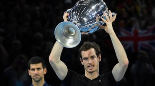 Andy Murray will finish the year as the world no 1