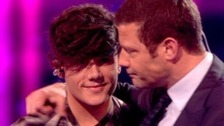 Ryan Lawrie was voted off the X Factor after a sing-off against Honey G