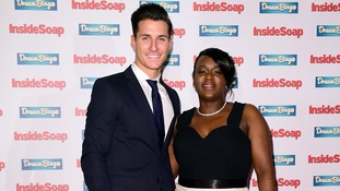 Gorka Marquez partnered EastEnders actress Tameka Empson.