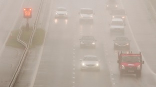 Rain on the M4
