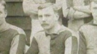 First ever football league goal scorer commemorated