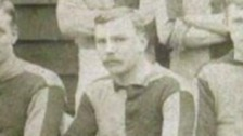 The first ever Football League goalscorer Kenny Davenport