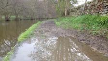 Muddy canal Silsden