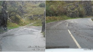 Cheddar Gorge flooding