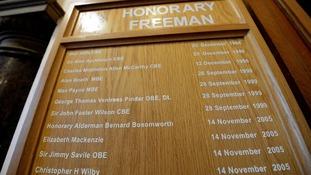 Savile plaque