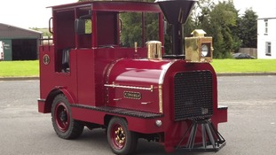 Replica of Puffing Billy