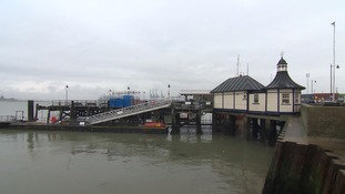 The pier today