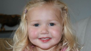 Mitzi Rosanna Steady, four, who was killed when a 32-tonne tipper truck careered out of control.