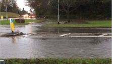 Flooding has been reported in Ratby in Leicestershire