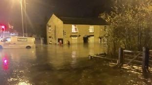 Flooding in Stalybridge