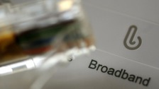 Broadband stock image.