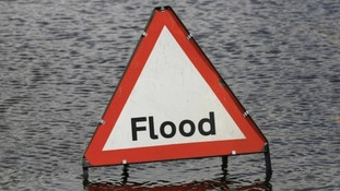 Flood alerts in the Anglia region