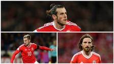 Gareth Bale, Arron Ramsey and Joe Allen
