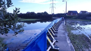 Bradford on Avon flood defences