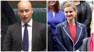 Stephen Kinnock and Jo Cox