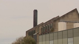 Carlsberg factory in Northampton