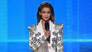 Gigi Hadid apologises for impression of Melania Trump
